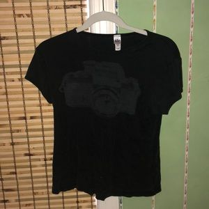 Black Sundance camera vintage T-shirt
